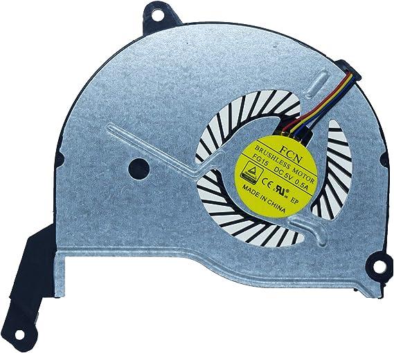 4-PIN 736278-001 DFS200405010T SWTG CPU Cooling Fan HP Pavilion 15-n000 Laptop