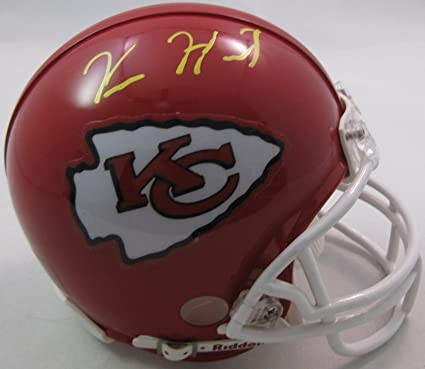 5a6516546 Kareem Hunt, Kansas City Chiefs, Signed, Autographed, Football Mini Helmet,  a