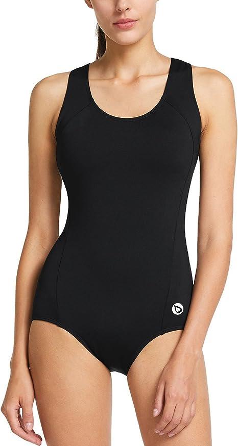 Amazon.com: BALEAF traje de baño de una pieza para mujer con ...