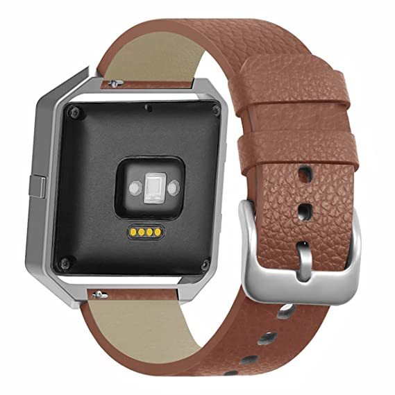 Bonstrap for Fitbit Blaze Band Smartwatch for Fitbit Blaze Leather Bands for Women Genuine Leather Replacement Straps Wristband