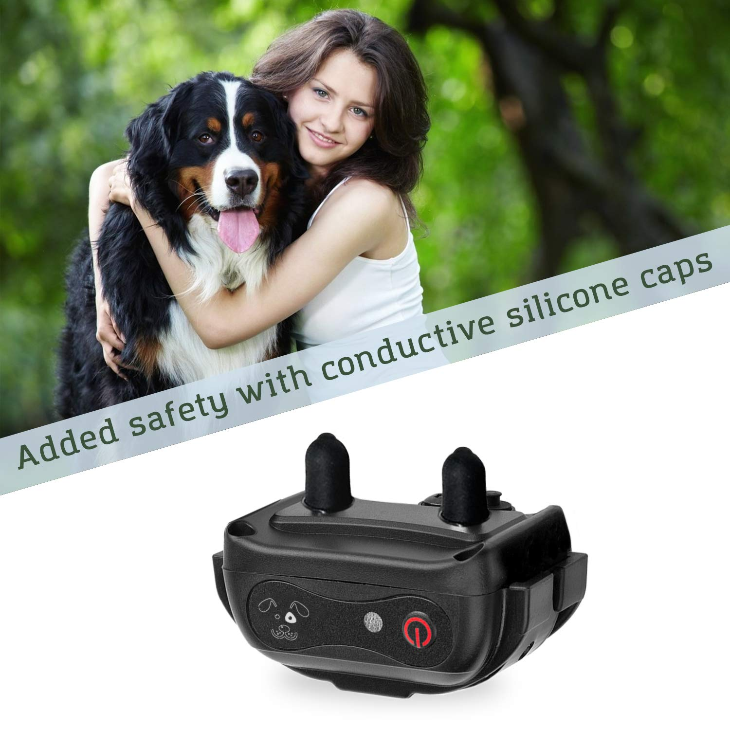 Small to Large Dogs Fully Waterproof Vibration and Beep Electric Trainer PetSpy X-Pro Dog Training Shock Collar for Dogs with Remote
