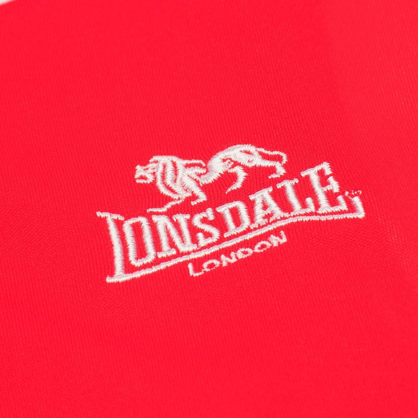 Lonsdale Mens Box Vest Boxing Tank Top Crew Neck Quick