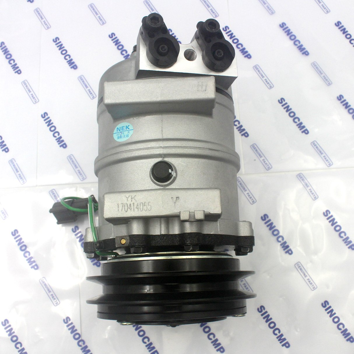 Amazon.com: 4425700 4456130 Air Conditioning Compressor - SINOCMP Excavator Air Conditioning Compressor Group Refrigerant for Hitachi ZX-1 ZX60 ZX200 ZX240 ...