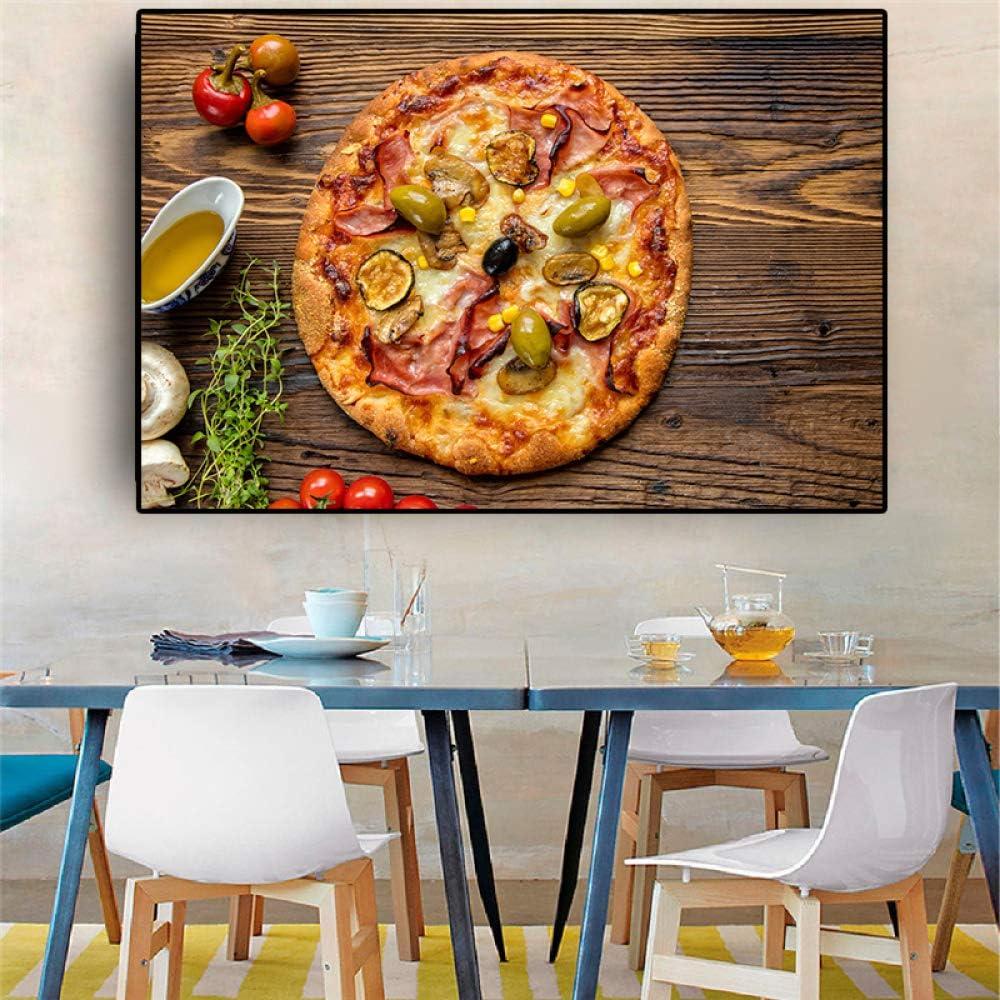 NIMCG Cocina de Catering de Estilo Occidental póster de Lienzo de ...