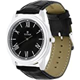 Titan Analog Black Dial Men's Watch-1735sl02