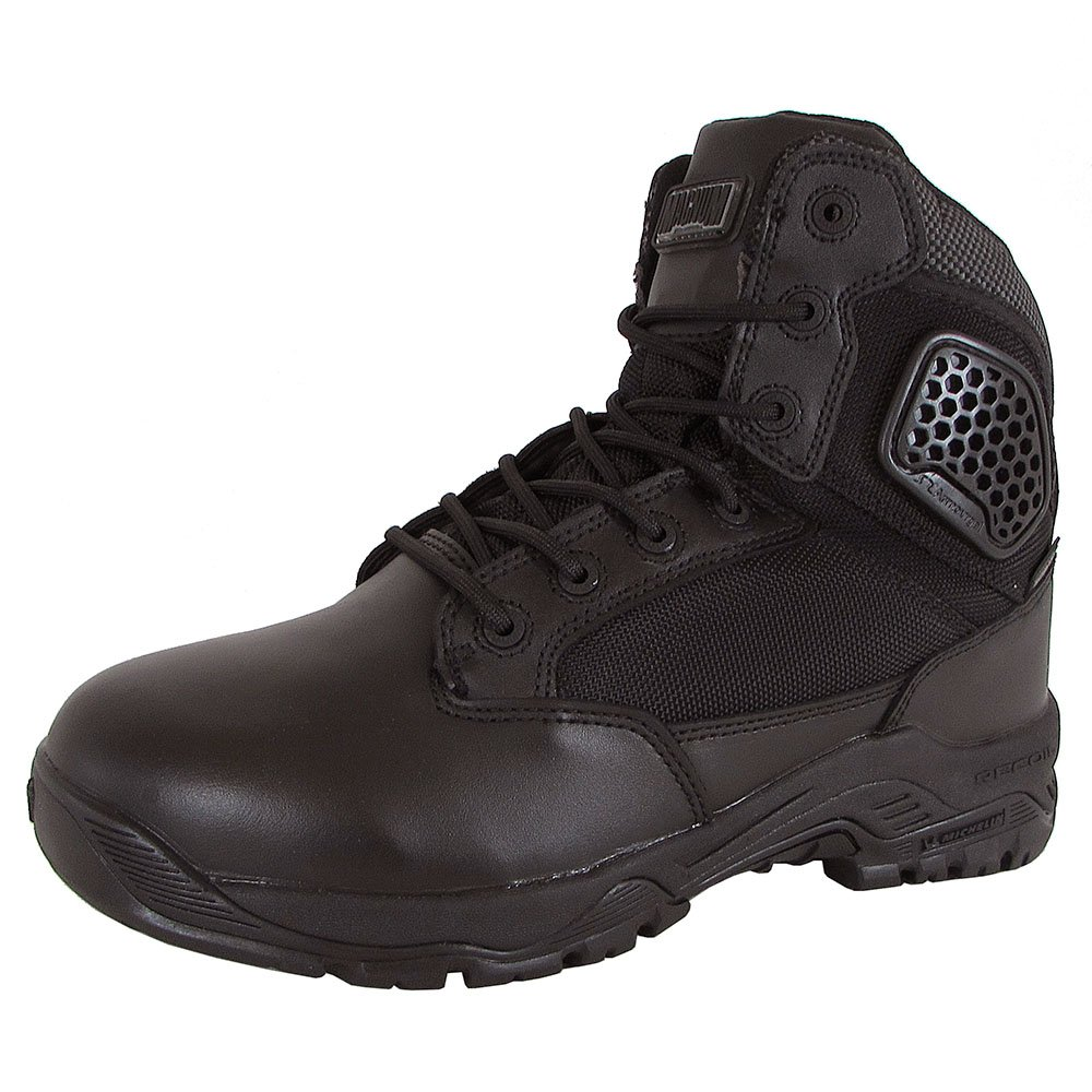 Magnum Men's Strike Force 6'' Waterproof Military & Tactical Boot, Black, 8 W US