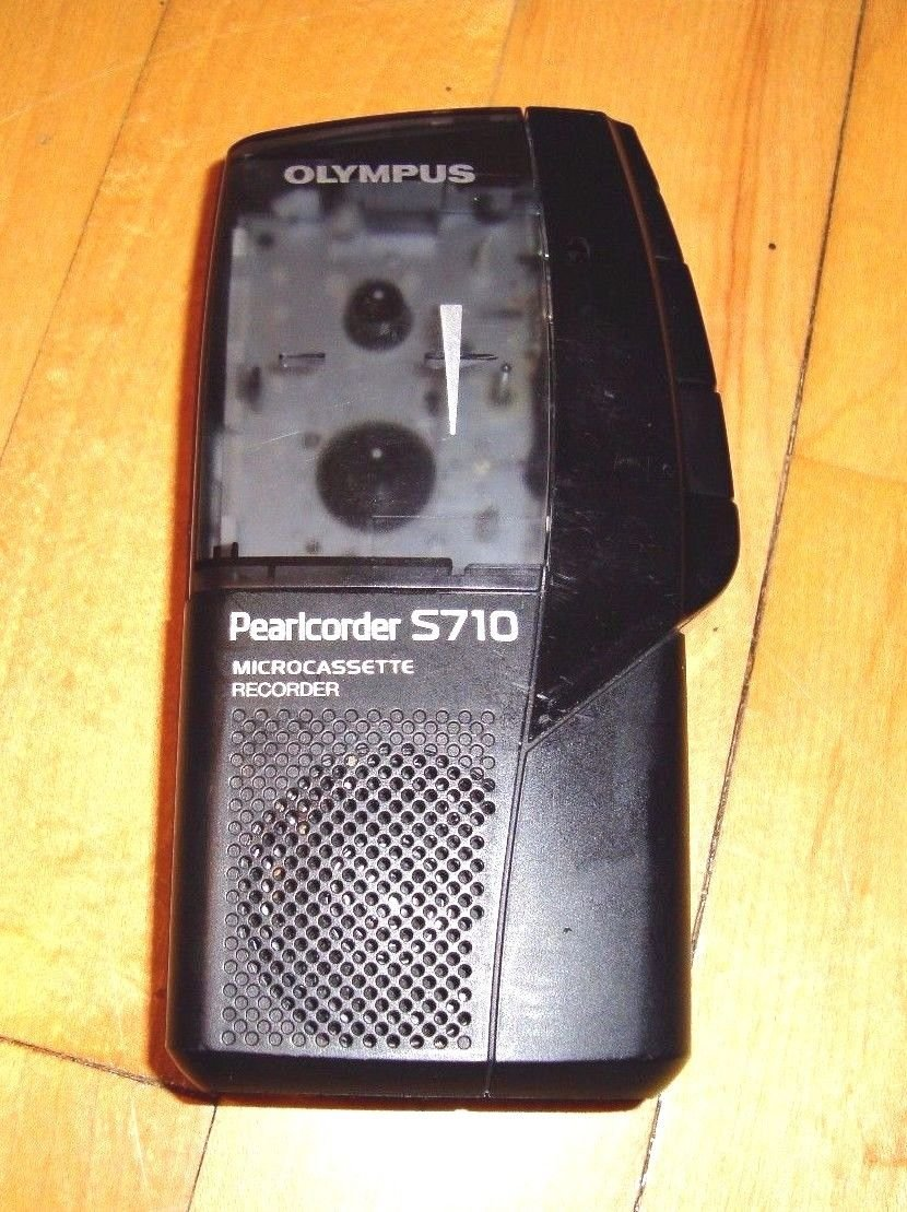 Olympus S710 Voice Activated Micro Cassette Recorder