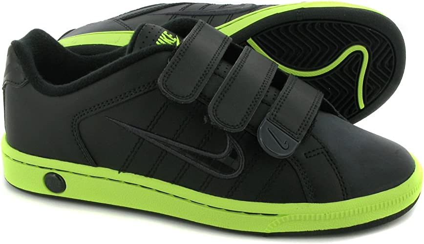 Simposio Rubí Ambigüedad  NIKE Court Tradition 2 Plus V Boys Trainers (Junior) 5 Black: Amazon.co.uk:  Shoes & Bags