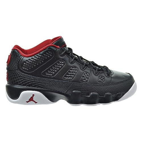686dee3d4effd Jordan Air 9 Retro Low BG Big Kid's Shoes Black/Gym Red/White 833447-001  (3.5 M US)