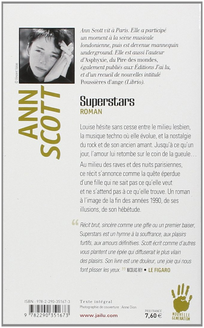 Superstars (LITTÉRATURE FRANÇAISE): Scott Ann: 9782290351673 ...