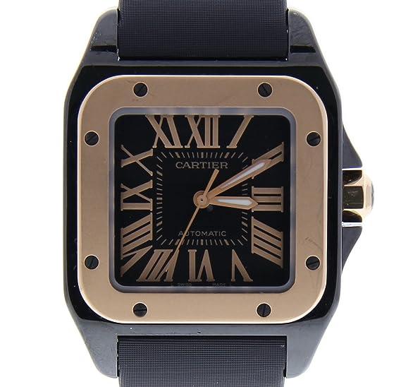 Cartier Santos 100 Automatic-Self-Wind Womens Watch 2878 (Certificado) de Segunda Mano: Cartier: Amazon.es: Relojes