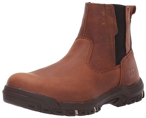 ca1b2683a90 Amazon.com: Caterpillar Men's Abbey Steel Toe Industrial Shoe: Shoes