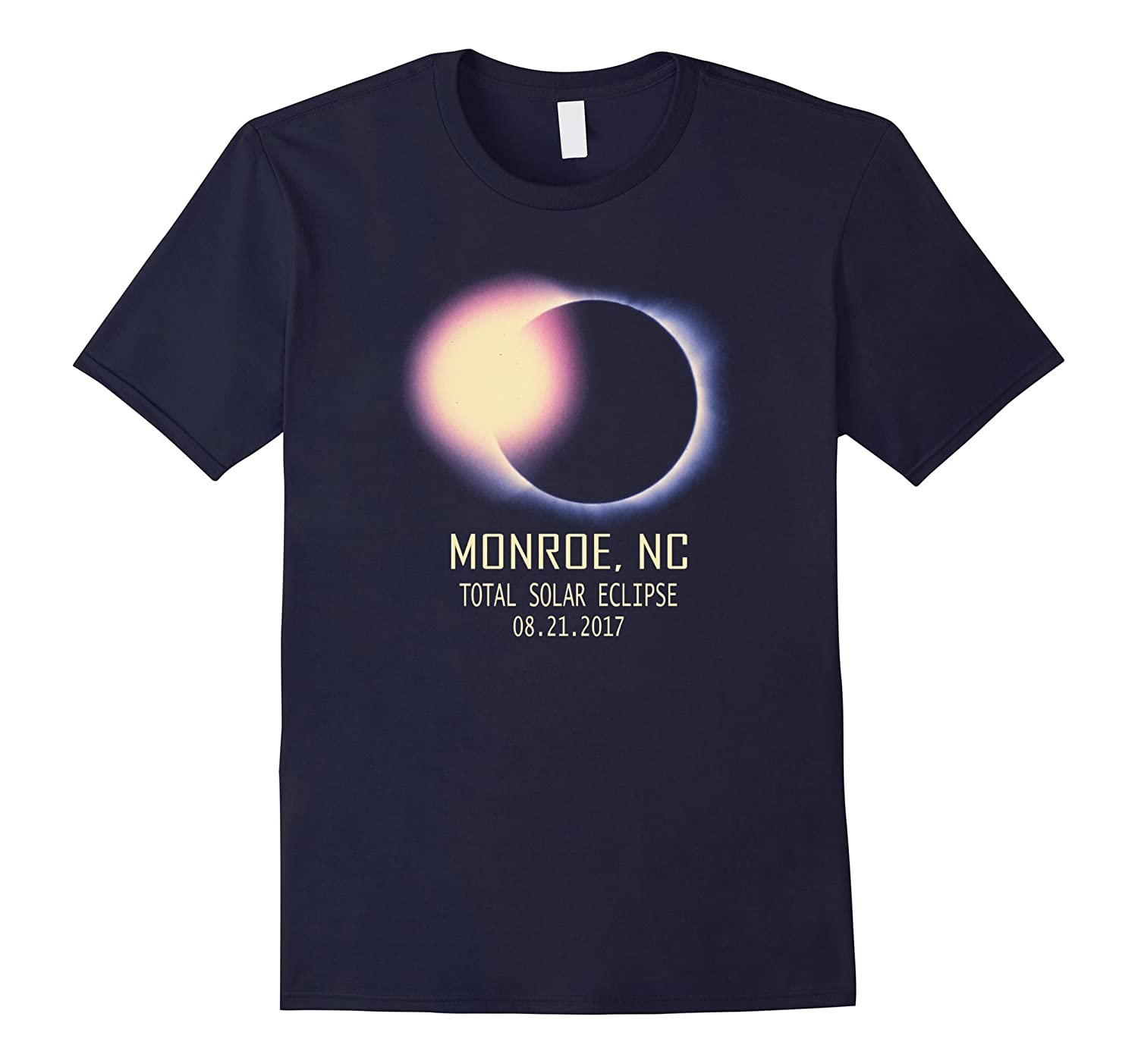 Total Solar Eclipse Monroe,NC August 21 2017 T Shirt-Art