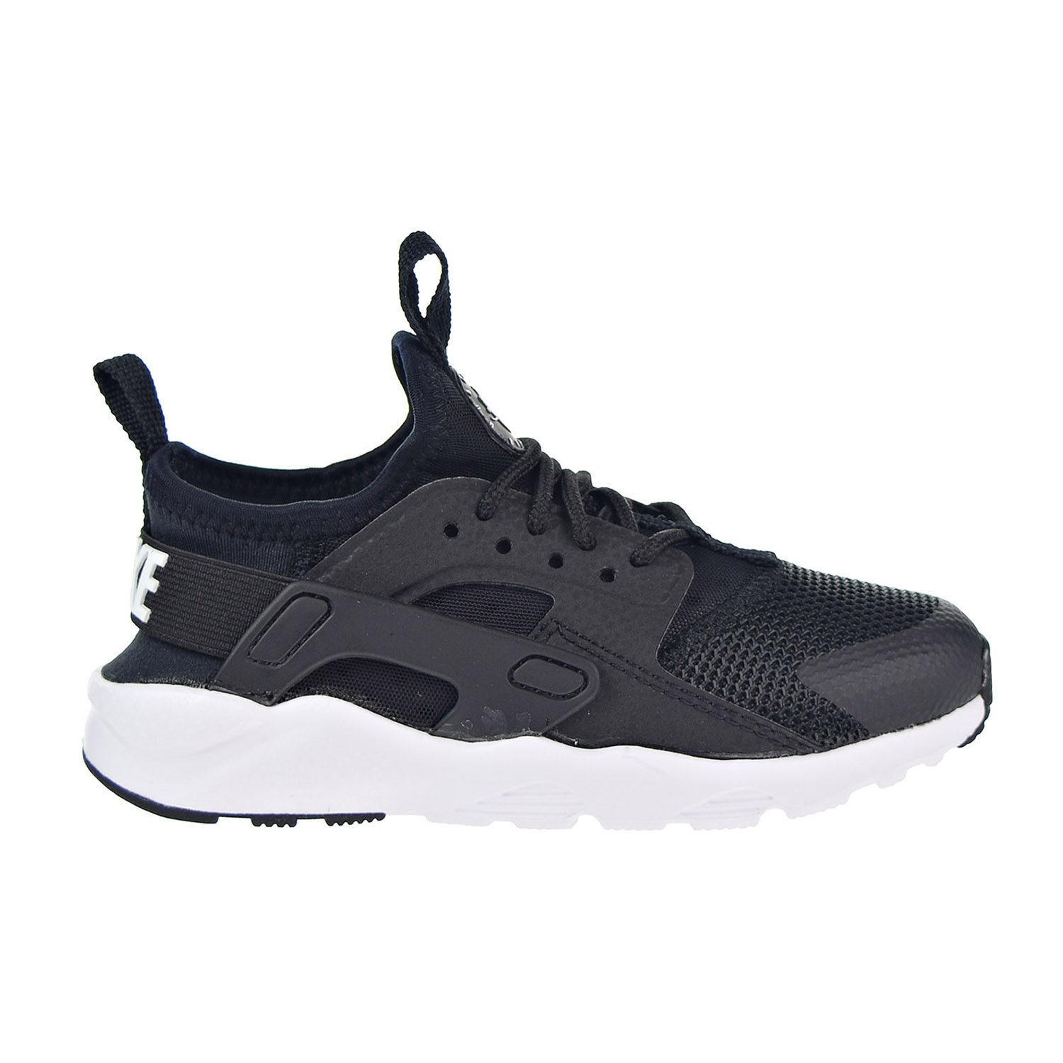 huge selection of 88d07 bdd5f Amazon.com   Nike Huarache Run Ultra Little Kids  Shoes Black White  859593-002 (12 M US)   Sneakers