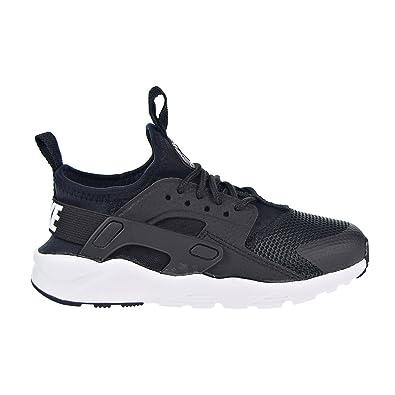 Amazon.com | Nike Huarache Run Ultra Little Kids' Shoes Black/White ...