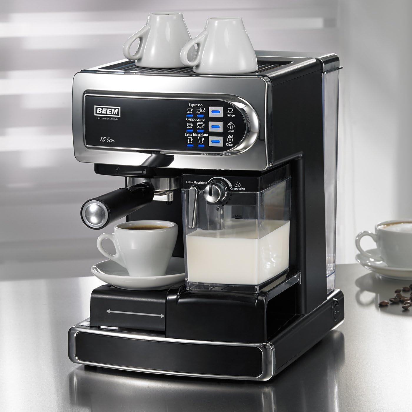 Beem Germany i-Joy Café & Latte - Cafetera automática, color gris ...