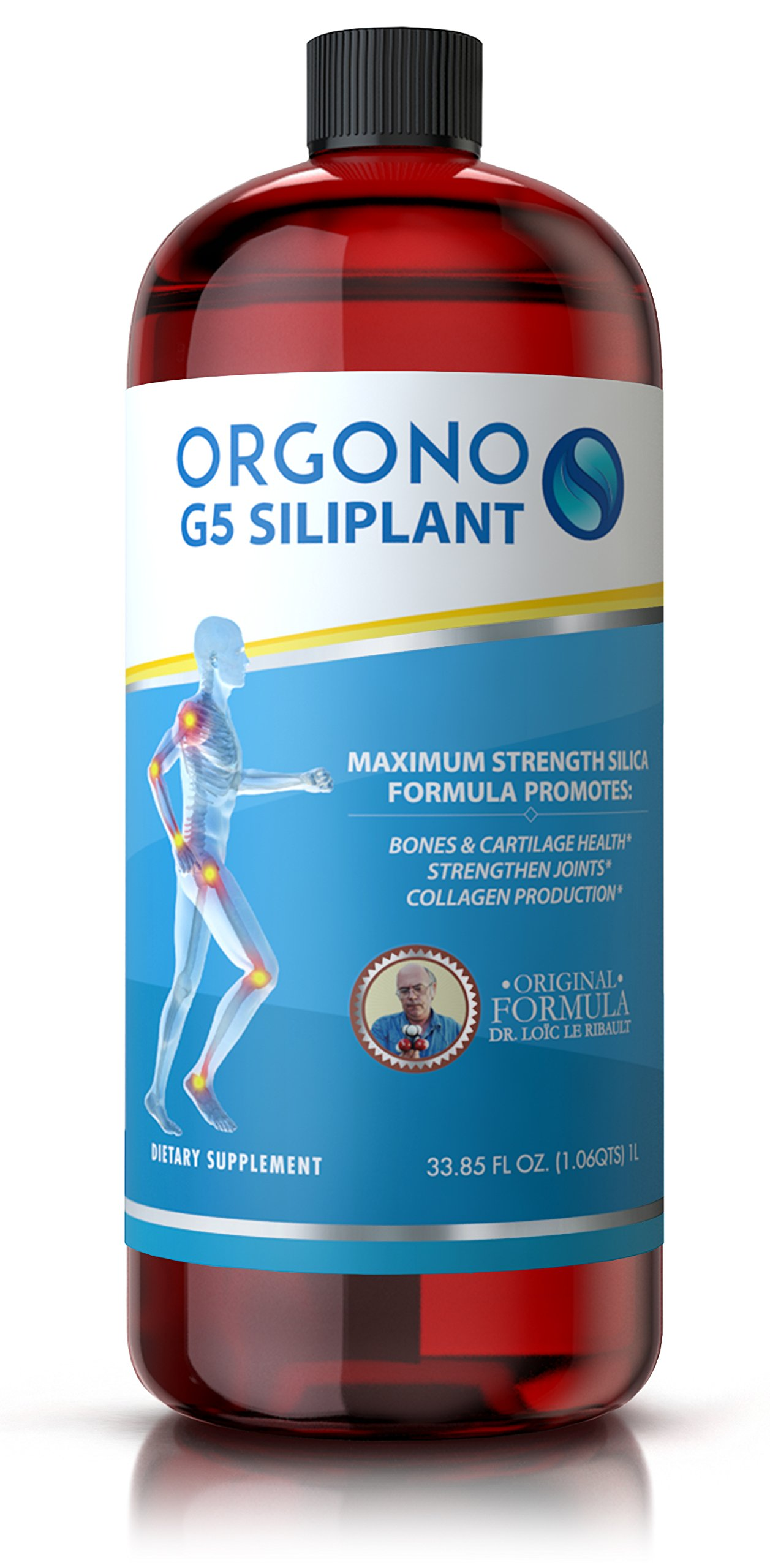 Orgono G5 Siliplant- Organic Silica for Bones Joints and Muscles by Orgono