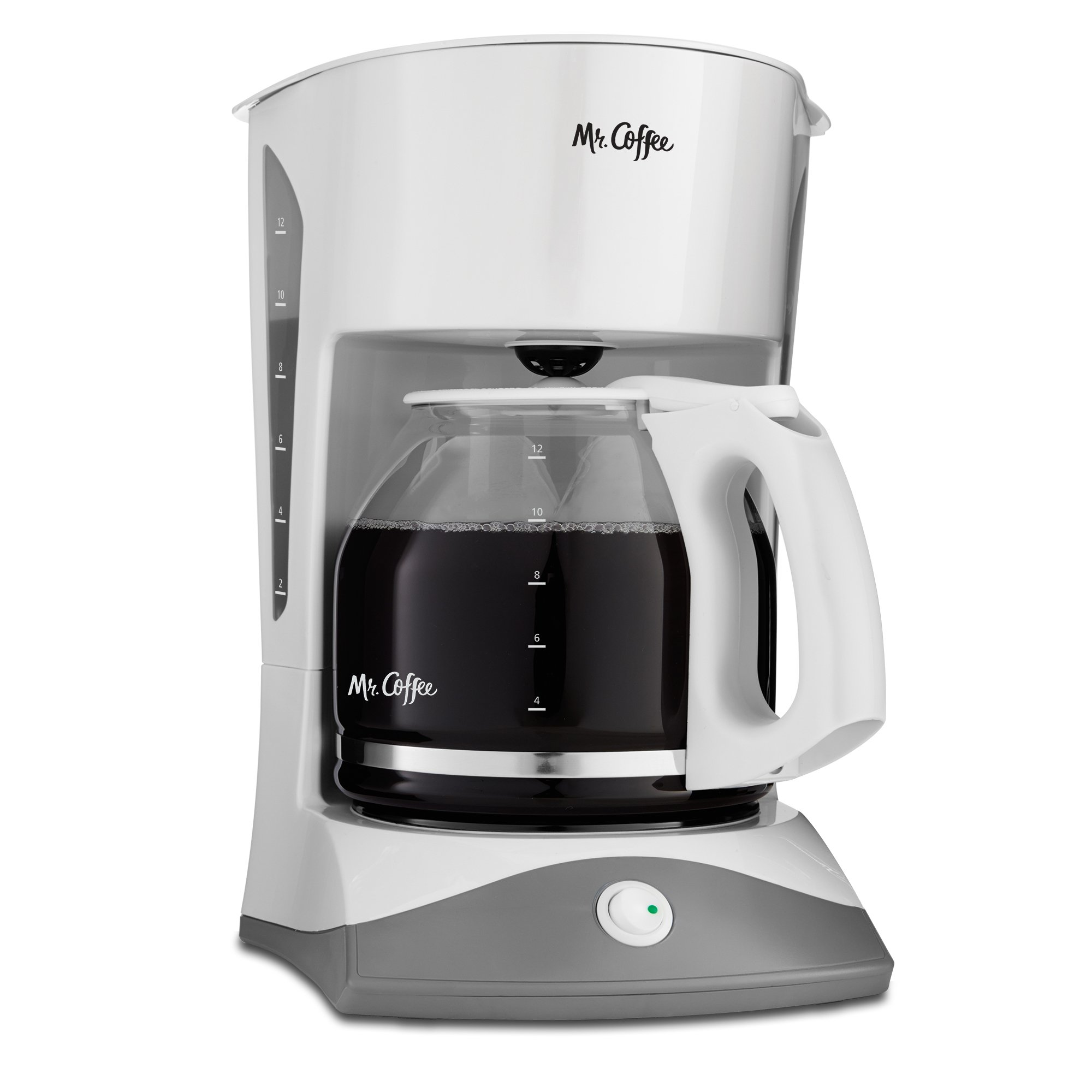 Mr. Coffee 12-Cup Manual Coffee Maker, White by Mr. Coffee