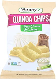 product image for Simply 7 Quinoa Chips - Sour Cream and Onion - Case of 12 - 3.5 oz.