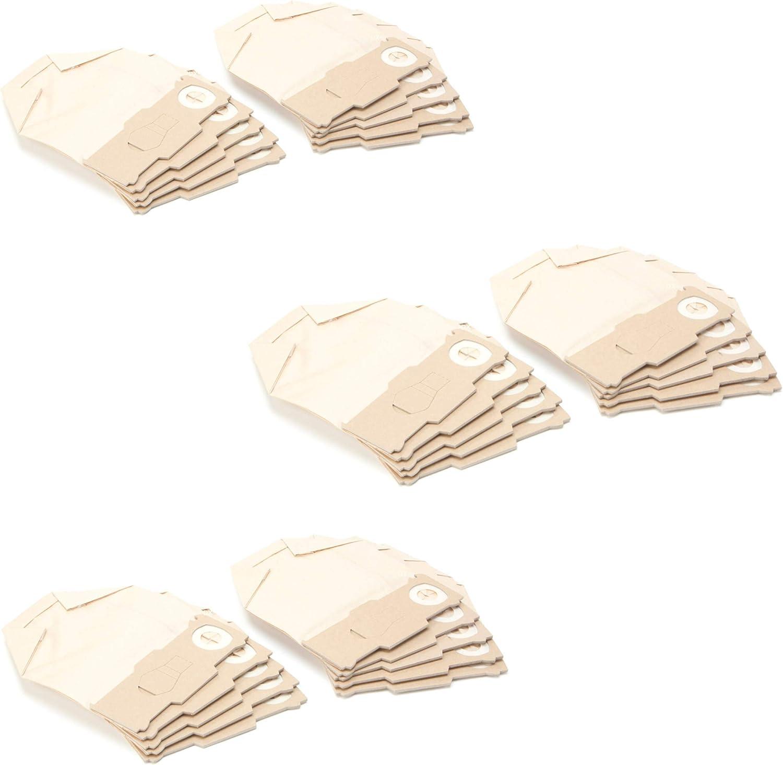 DREHFLEX – 30 Aspiradora bolsas de papel para VORWERK – Kobold 130 ...