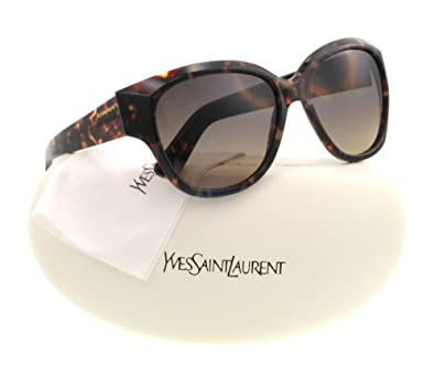 Amazon.com: yvessaintlaurent anteojos de sol YSL 6359/S café ...