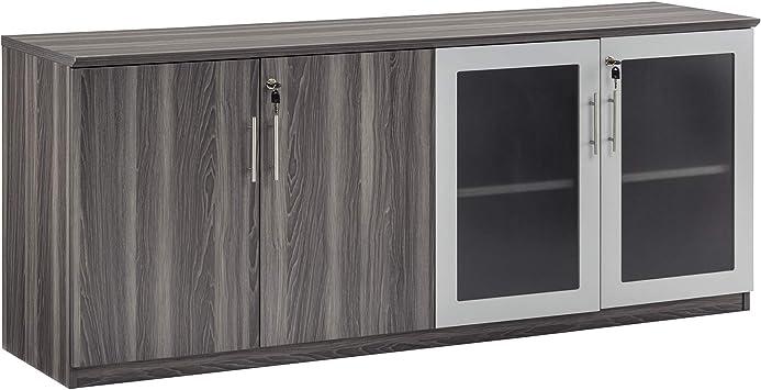 Safco Medina Cabinet Gray Steel