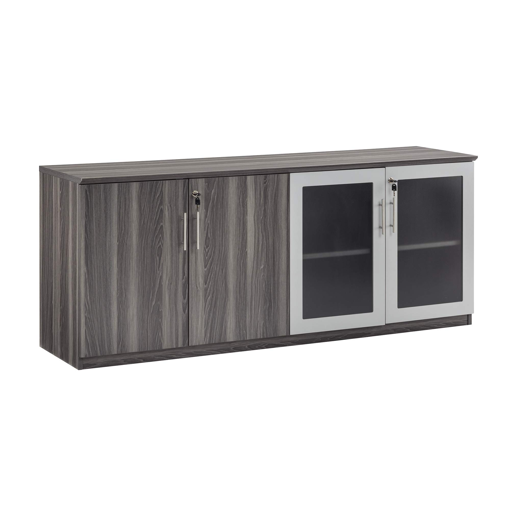 Safco Medina Cabinet, Gray Steel by Safco