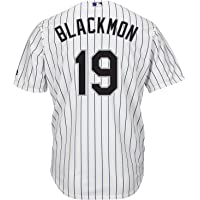 344bfd98c Outerstuff Charlie Blackmon Colorado Rockies White Youth Cool Base Home Replica  Jersey