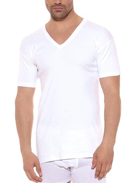 OCEAN Camiseta Pack x 6 Pico Blanco 60