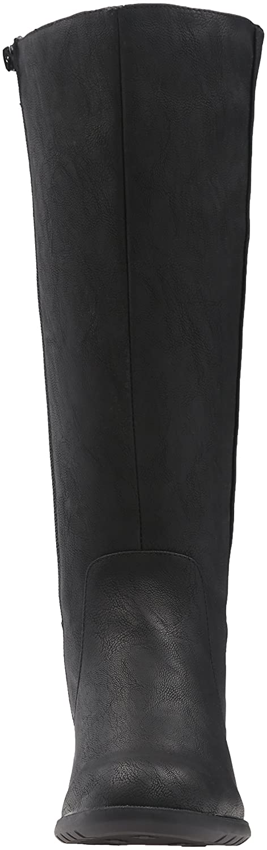 LifeStride Women's Xandywc Riding Boot- Wide Calf B01DV98QU2 10 B(M) US|Black