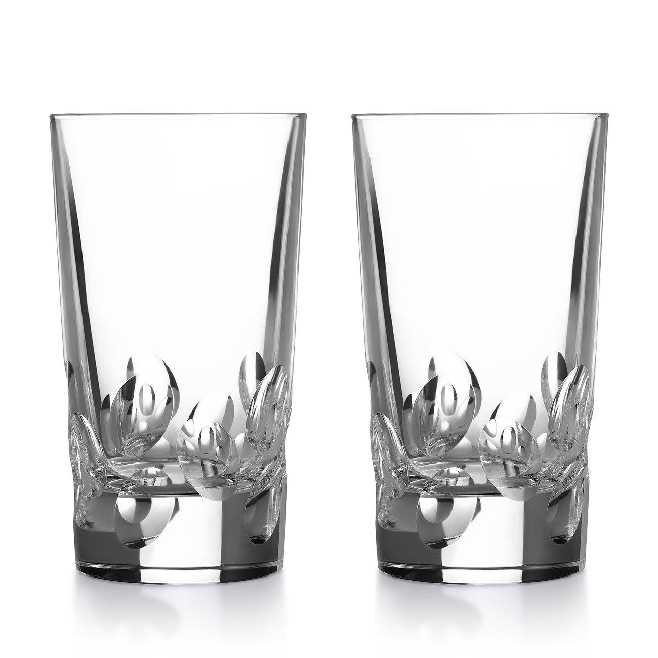 Christofle Cluny Highball Glass, Set of 2