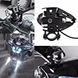 UDee Cree U5 Bike Projector White LED Aux Light For TVS Apache RTR 160