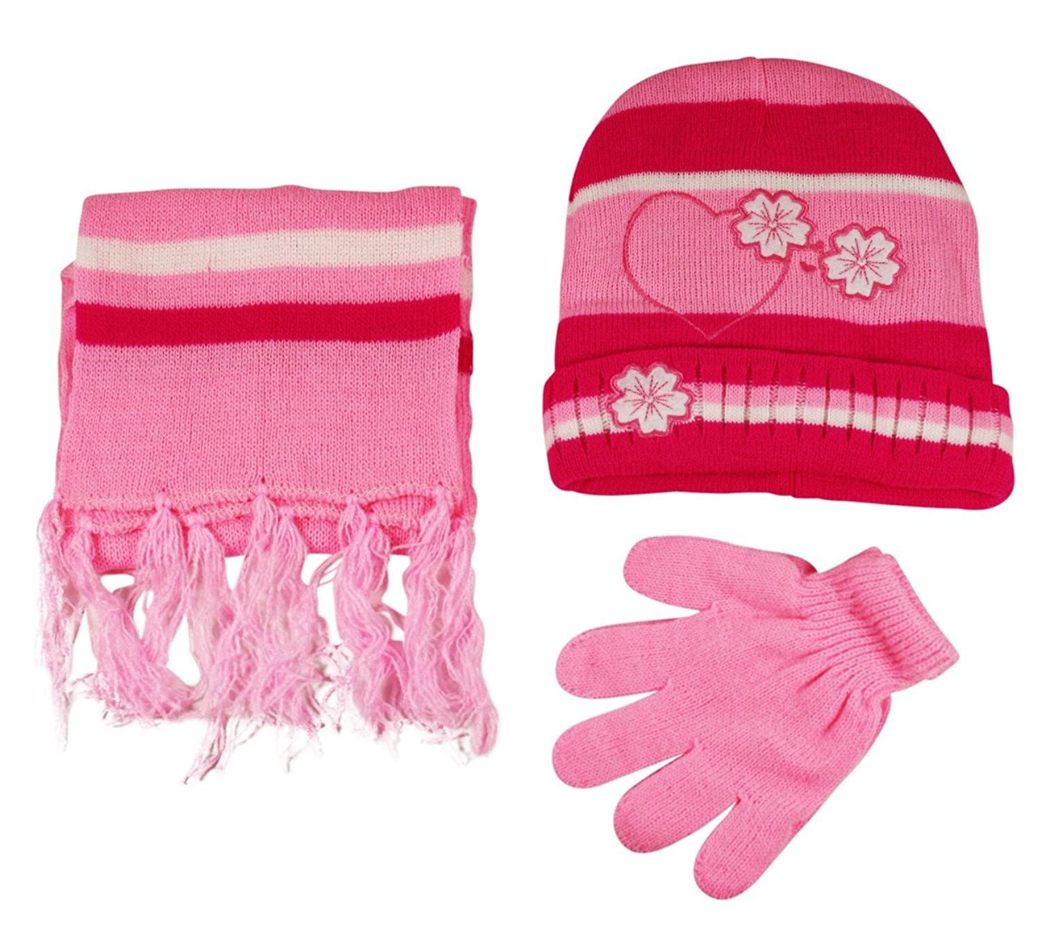 PACK OF 2 DISNEY WINTER WARM BEANIE HAT /& GLOVES FOR KIDS GIRLS /& BOYS 1-5 YEAR