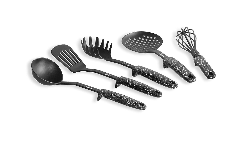 Stoneline Küchenhelfer mit Stütze (9, schwarz): Amazon.de: Küche ...