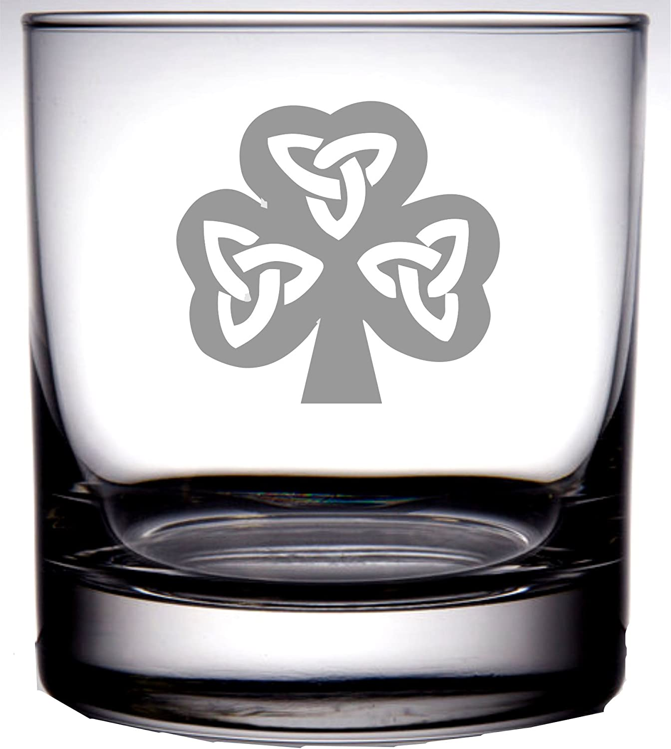 IE Laserware Bourbon is permanently etched on this 12.5 oz Rocks glass