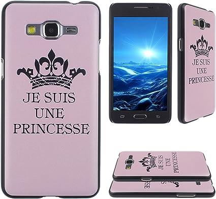 Asnlove Étui pour Samsung Galaxy Grand Prime SM-G530FZ Dur Coque ...