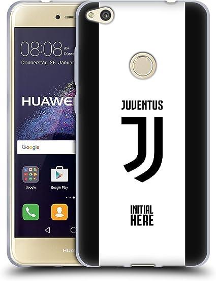 Head Case Designs Licenza Ufficiale Personalizzata Personale Juventus Football Club Strisce in Grassetto Cover in Morbido Gel Compatibile con Huawei ...