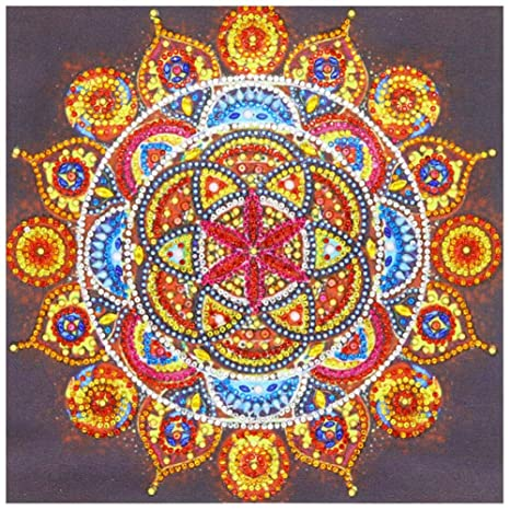 5D-Mandala Diamond Embroidery DIY Craft Painting Cross Stitch Kit Home-Decor