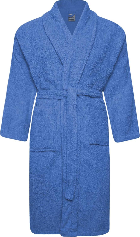 Ladies Dressing Gowns Robe Wrap Luxury Mink Shawl Collar