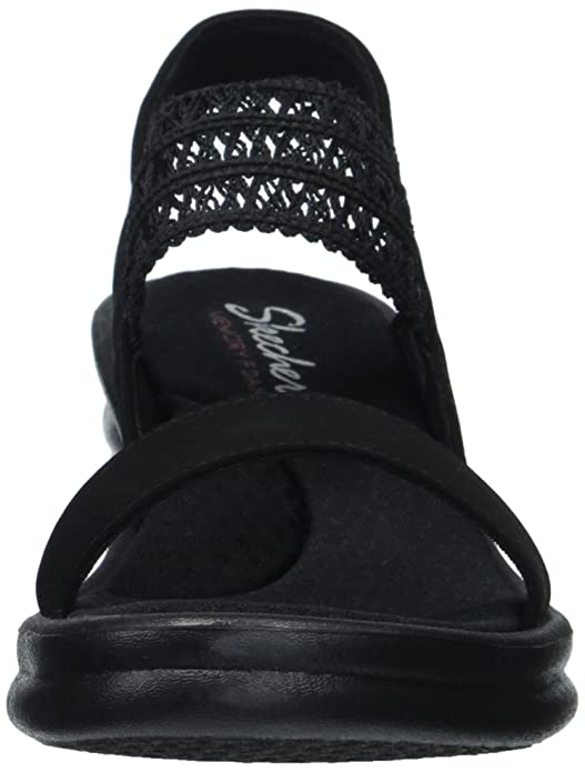 b5926c35b0 Amazon.com | Skechers Women's Rumbler Wave-Drama Diva Wedge Sandal |  Platforms & Wedges