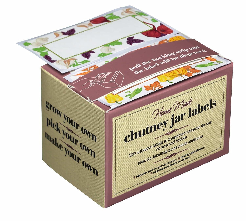 Amazon A Box Of 100 Self Adhesive Chutney Marmalade Or
