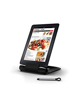 Prepara PP08-PREPBK Black iPrep Adjustable Stand for phones, tablets, e-readers, Large,