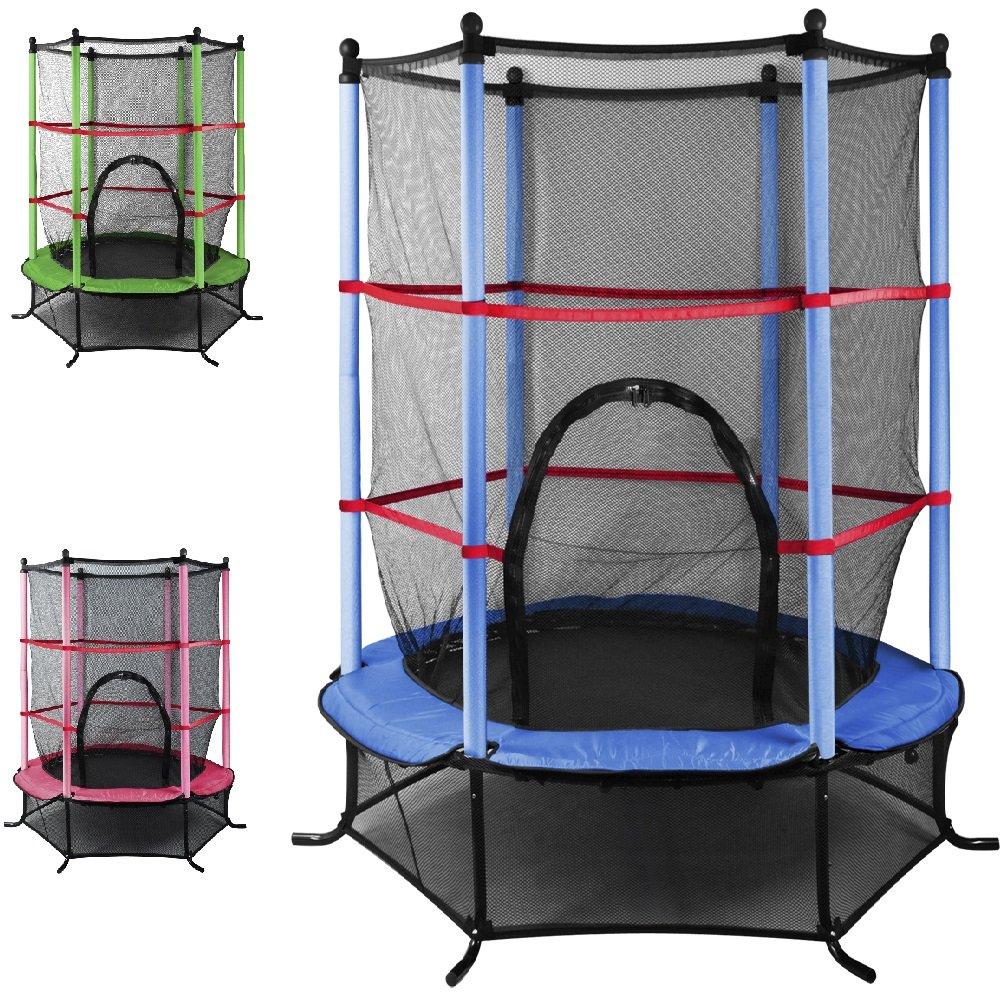 Trampolin für den Außenbereich, 137 cm, Weihnachtsgeschenk, mit Qualität und Sicherheit, von Popamazing
