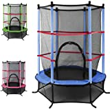 "Popamazing 55"" 4.5FT Outdoor Tramplines Christmas Gift Quality and Safety"