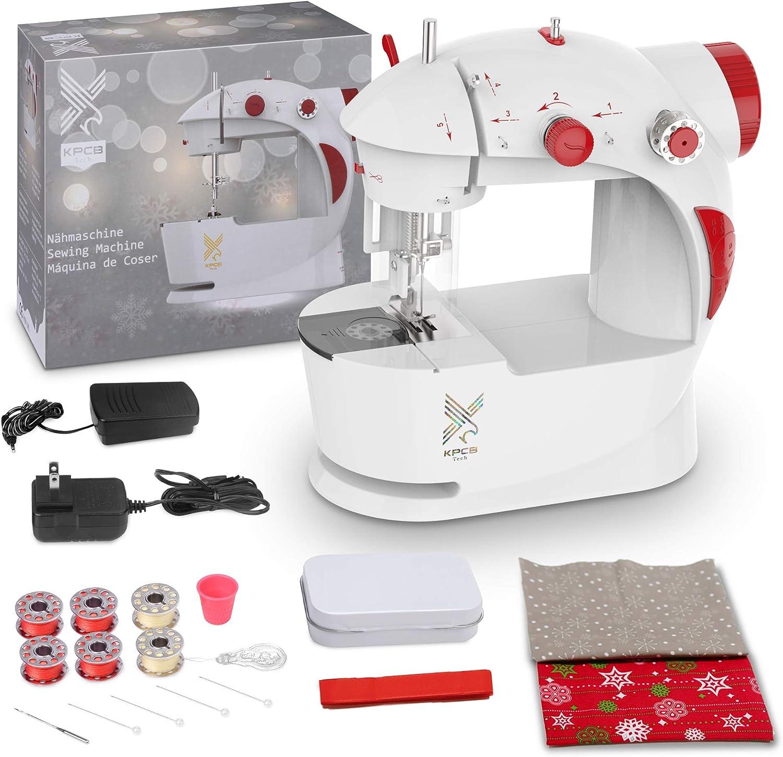 Máquina de Coser para Principiantes con Bolsa Materiales de Bricolaje