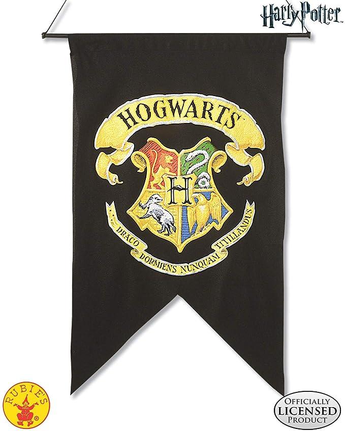 Rubies - Bandera Oficial de Harry Potter Gryffindor para la Pared, Accesorio de decoración