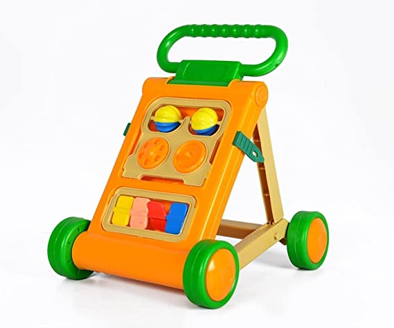 JoyKart™ Bajaj Baby Walker with Music & Light - Colorful & Interactive - Green