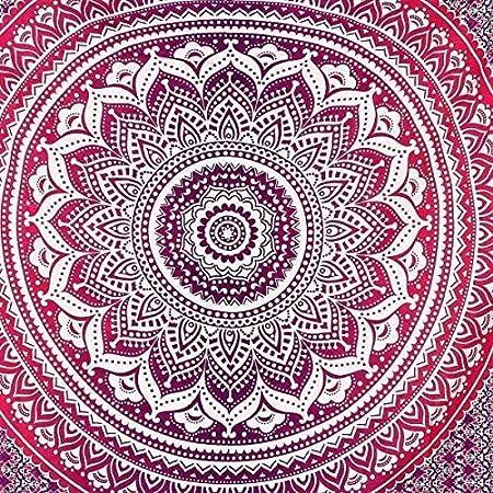 KALTYS Tapiz Mandala 100% algodón Tejido a Mano: Amazon.es: Hogar
