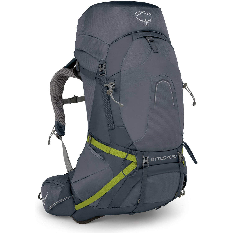 Osprey Packs Atmos Ag 50 Backpacking Pack, Abyss Grey, Medium