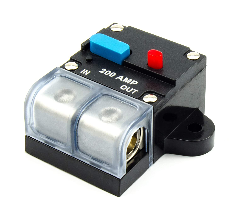 200A Automatische Sicherung Automatik Schalter Automat 12V 24V 48V bis 50mm² WATERMARK Vertriebs GmbH & Co. KG FH-200A
